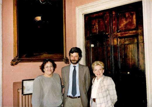Leslee Reis, Nancy & Count Serego Alighieri