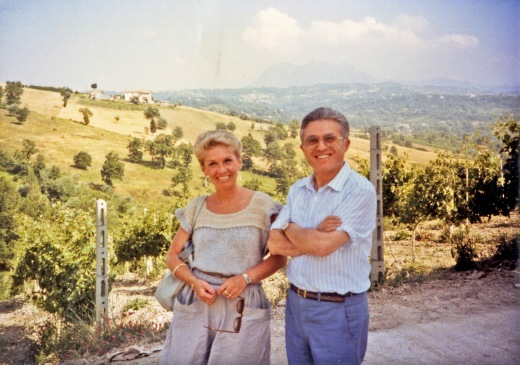 Nancy with Anotonio Mastroberardino