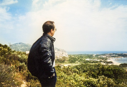 Paolo on the Sardinian coast