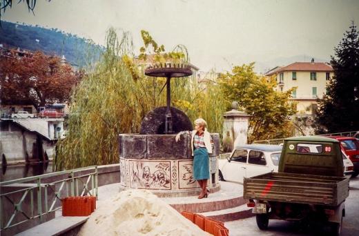 Nancy in Liguria