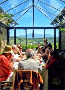 Poggio al Castellare dining room