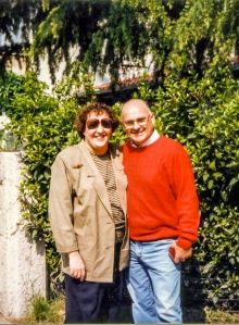 Leslee with Benito Nonino