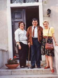 Leslee and Nancy with Mario Schiopetto