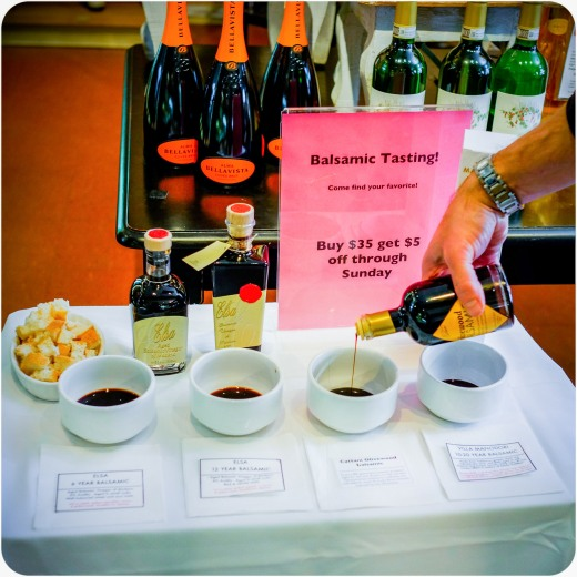 Balsamic Vinegar Tasting