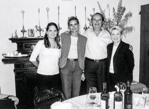 Laura, Fabrizio, Candace and I