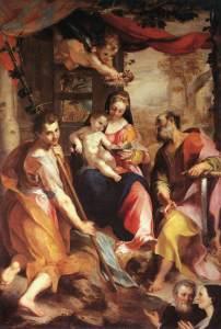 "Federico Barocci ""Virgin and Child with Saints,"" circa 1567"