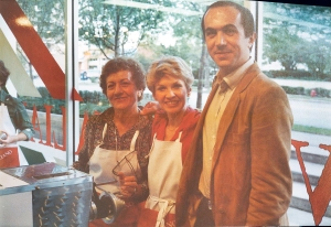 Vanda, Paolo and I in the original Convito Italiano